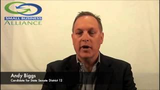 Andy Biggs for 2014 State Senate LD12 - Question 8