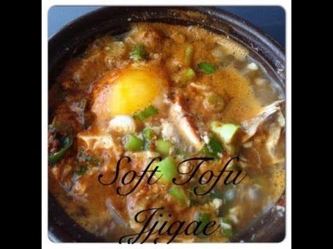 Korean Seafood/Silken Tofu Soup 순두부찌개 Recipe