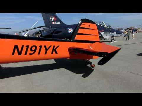YAK-55M a single seat aerobatic aircraft
