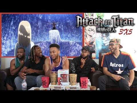 THE CAVE!!! ATTACK ON TITAN 3X5 REACTION/REVIEW (SEASON 3 EPISODE 5)