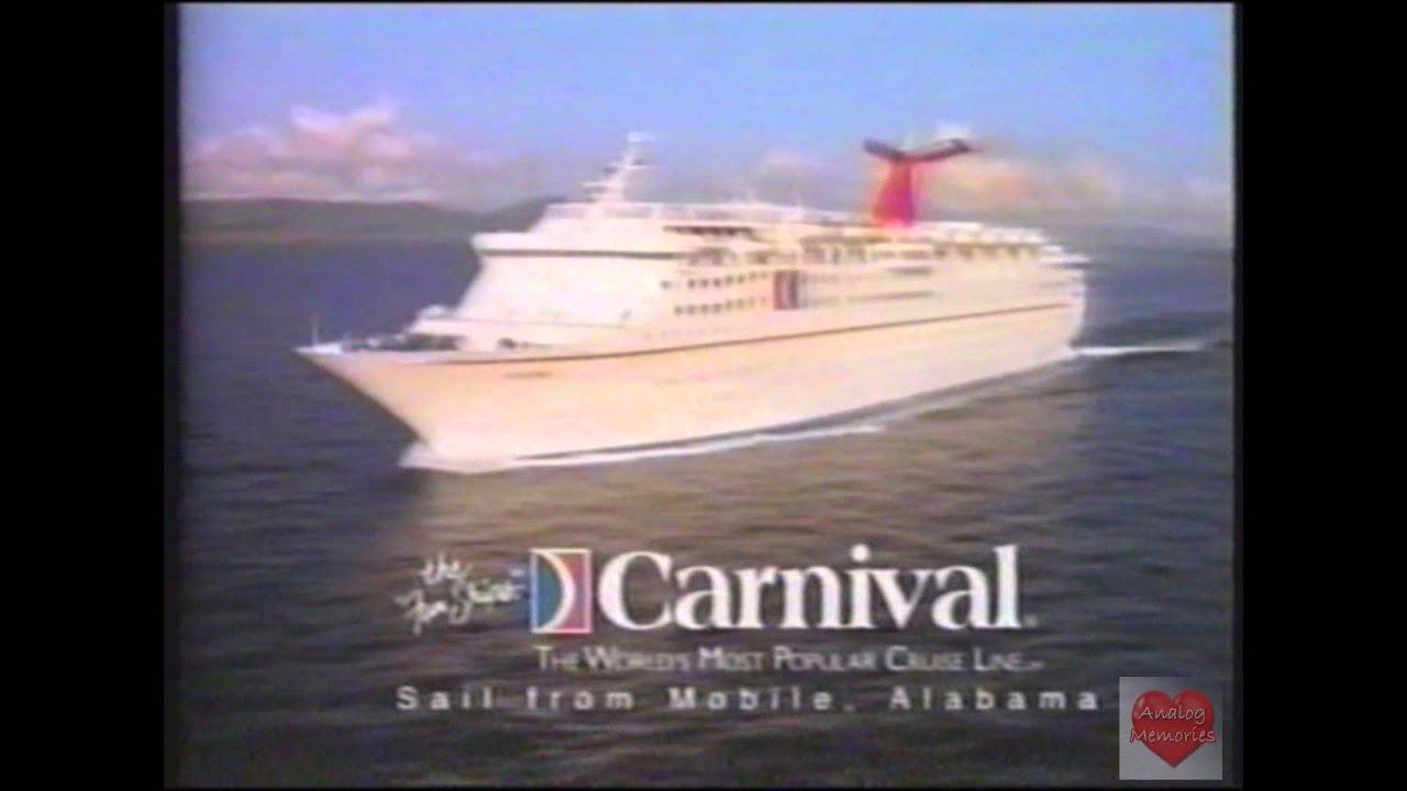 Carnival Cruise Mobile Alabama Television Commercial YouTube - Cruise ship mobile alabama