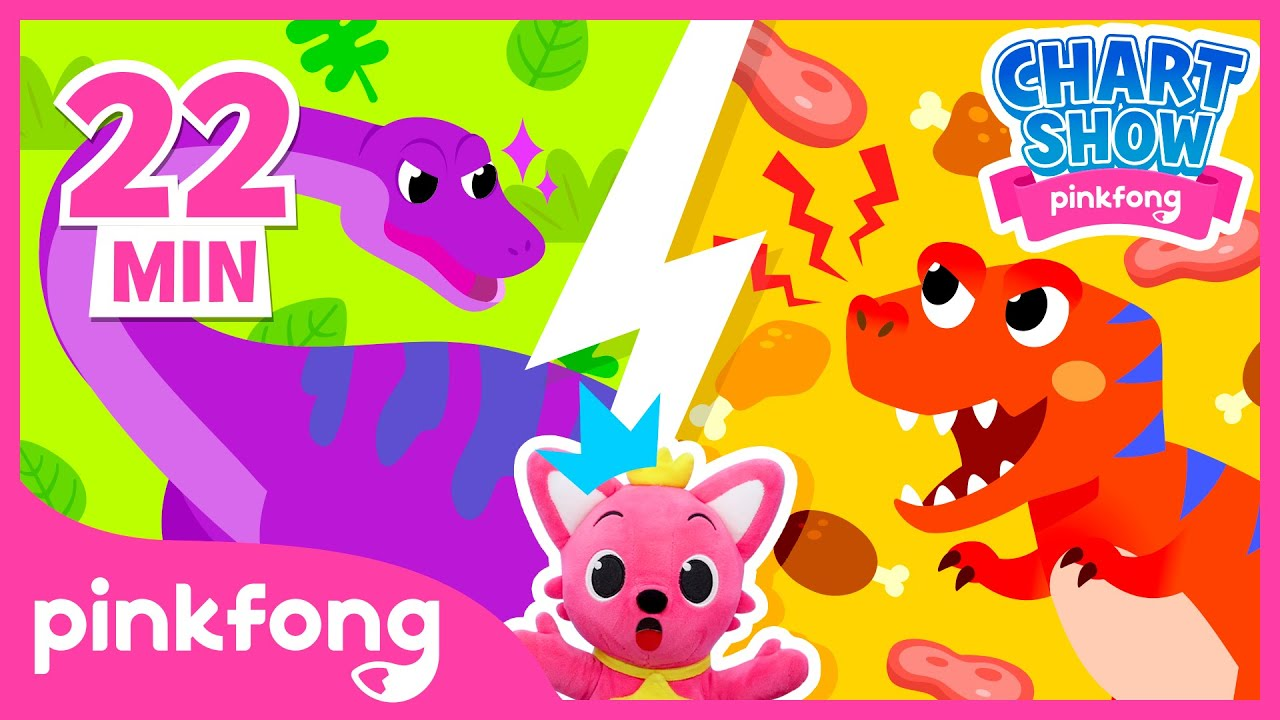 I want to meet a dinosaur! | Pinkfong Chart Show | Pinkfong Show for Children