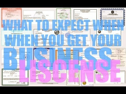 What To Expect When You Get A Business License and Why You Should Take Credit Cards