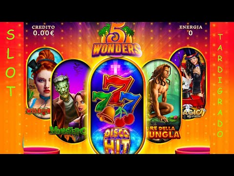 Slot da Bar a Moneta - 5 Wonders Multigame  - Lucky 7