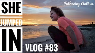 She Couldn't Help Herself   Autistic Girl Jumps In   Fathering Autism Vlog #83