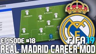 ТРАНСФЕРЫ БЛИЗКО / МОЛОДЫЕ ТАЛАНТЫ РЕАЛА   FIFA 19   Карьера тренера за Реал Мадрид [#18]