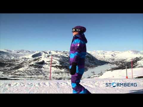Stormberg Catwalk - Slahtti jakke og bukse dame