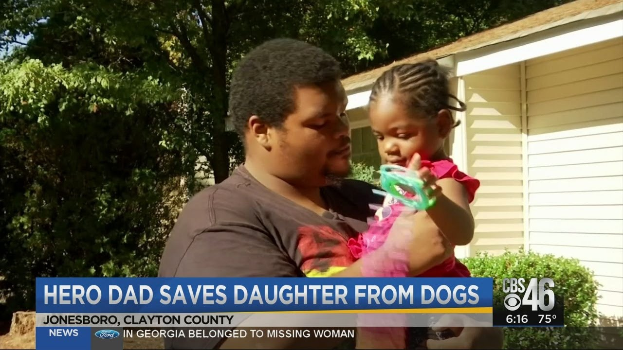 Black Parenthood: Hero dad saves daughter from dogs