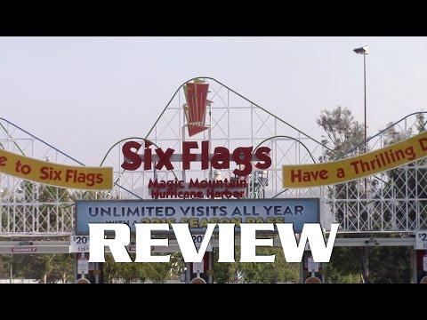 Six Flags Magic Mountain Review Valencia, California