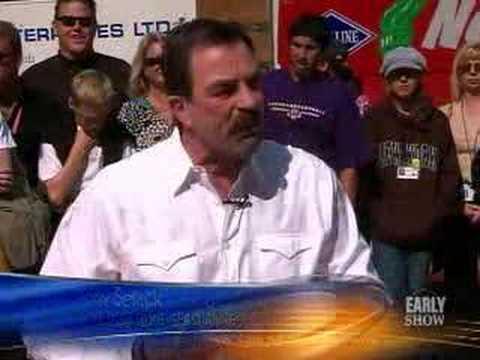 Tom Selleck On 'Change' (CBS News)