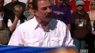 Tom Selleck On 'Change' (CBS News)