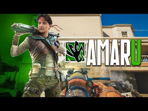 AMARU GAMEPLAY: Garra Hook is INSANE (Rainbow Six Siege)