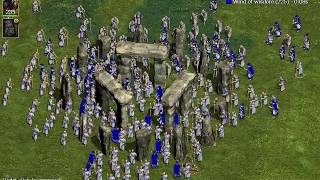 Nemesis of the Roman Empire - 1000 Priests pray for level at Stonehenge
