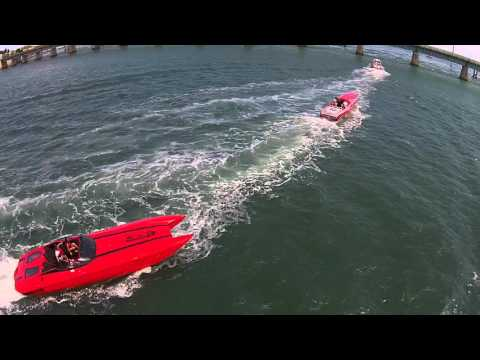 Florida Powerboat Club 2015 2nd Annual Key West Air Land & Sea Poker Run Segment 3
