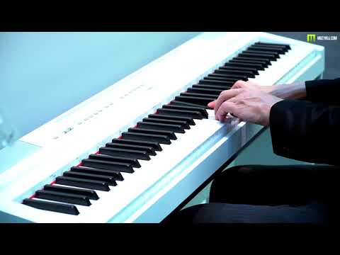 Nagrania dla muzykuj.com – Yamaha P 125 – musikmesse 2018 gra: Kamil Barański www.muzykuj.com