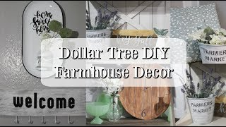 DOLLAR TREE DIY FARMHOUSE DECOR   FARMHOUSE DECOR DIY