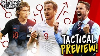 HOW ENGLAND CAN BEAT CROATIA | World Cup Semi-Final Tactical Preview