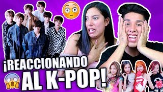 ¿SON HUMANOS? 😱 | Reaccionando a K-POP (BTS, EXO, Big Bang, Blackpink, etc) 😵 Ft. Gianella Clavijo