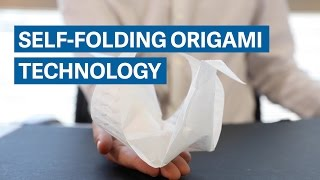 MIT's self-folding origami technology