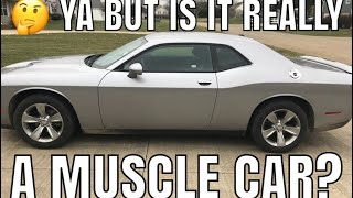 2018 Challenger SXT V6 muscle car? Reviewed by a skeptical Hemi R/T owner.