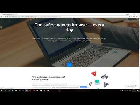 Avast Safezone Installation Request