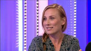 Holby City Rosie Marcel and Luke Roberts the One Show 27.08.19 P2