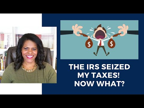 Can the IRS Seize Your Tax Refund? Here's What You Need To Know