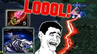 DOTA MIRANA DAGON LOOOL!! (FUNNY GAME)