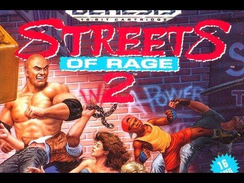Cgrundertow Streets Of Rage 2 For Sega Genesis Video Game