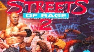 CGRundertow STREETS OF RAGE 2 for Sega Genesis Video Game Review