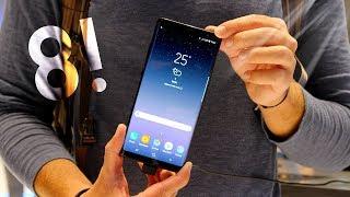 Samsung Galaxy Note 8 : mes premières impressions !