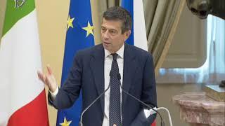 Roma - Interrogatorio a distanza con Vaclav Havel - Partecipa Carfagna (10.10.19)