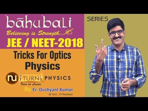 Tricks For Optics Physics I NEET/JEE-2018