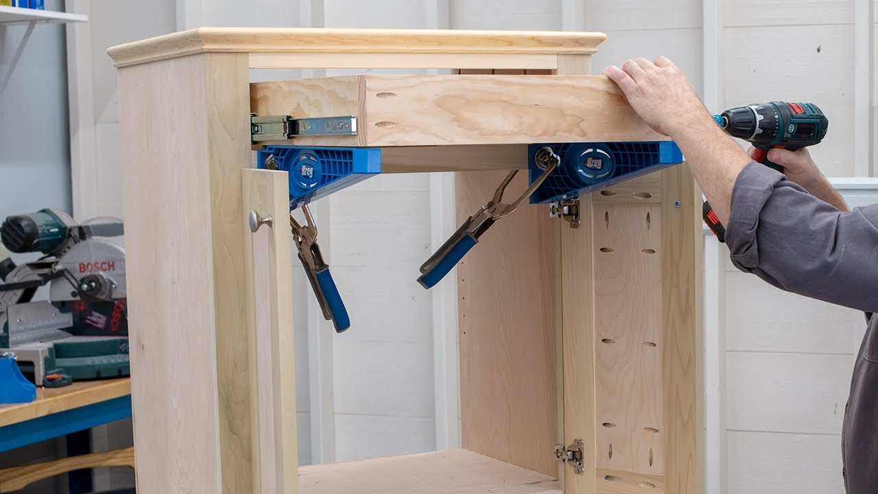 Add Drawers To Your Project Easily  Basics of Building DIY