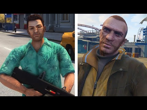 Why Rockstar Games DISLIKE Niko Bellic and Tommy Vercetti