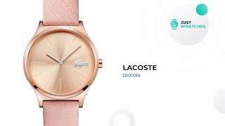 Unique Lacoste 2001014 Watches for Women Review in 360, Prices, Features
