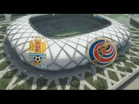 URUGUAY VS COSTA RICA FIFA WORLD CUP 2014 OFFICIAL FULL MATCH WITH COMMENTARY RESULT in videogamesim