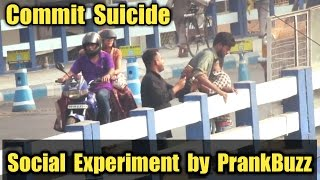 Life Changing Video(Only this 5min)   Social Experiment Commit Suicide   Must Watch Till The End