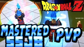 Mastered SSJB (Vegeta) In World Tournament ROBLOX Dragon Ball Z Final Stand Ranked Matches
