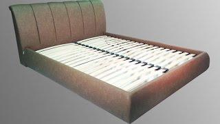 як самому зробити ліжко з м'яким узголів'ям