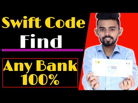 How To Find Swift Code Of Any Bank | How To Find Swift Code Of Your Bank Account | Find Swift Code |