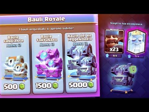 Shoppo i NUOVI BAULI su Clash Royale! 7.000 GEMME Chest Opening!