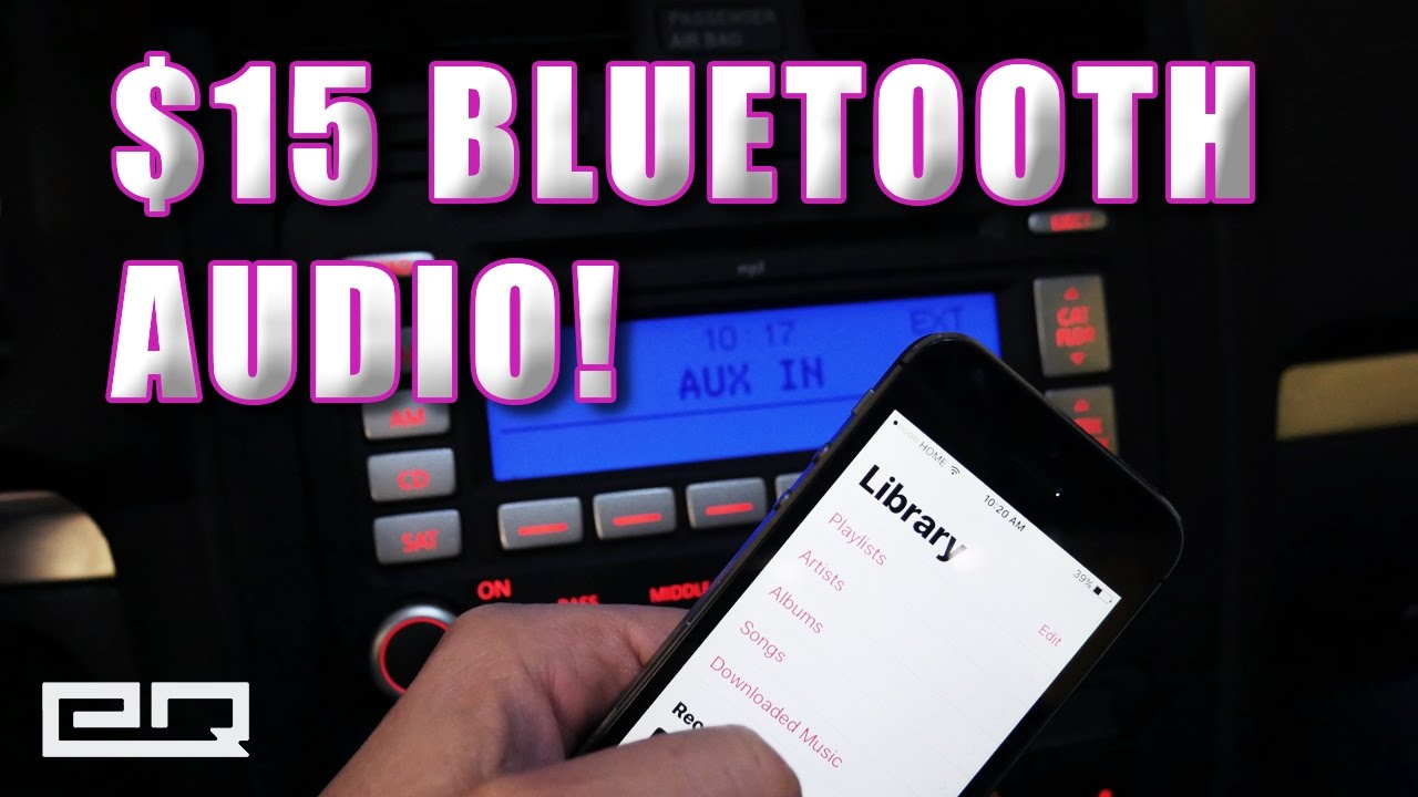 How To Install Bluetooth In Your Car For Less Than 15 Hidden