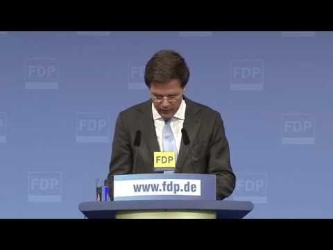 Grußrede des Ministerpräsidenten der Niederlande Mark Rutte