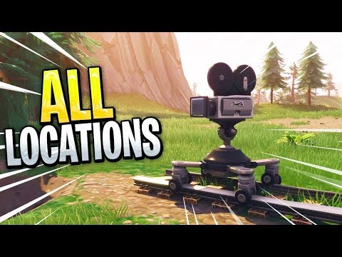 All Camera Locations In Fortnite! - Week 2 Challenge Guide