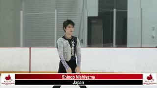 ミントサマースケート2018 Junior Men FS 8番滑走 西山真瑚 エデンの東 ...