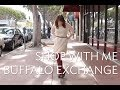 SHOP WITH ME: Buffalo Exchange