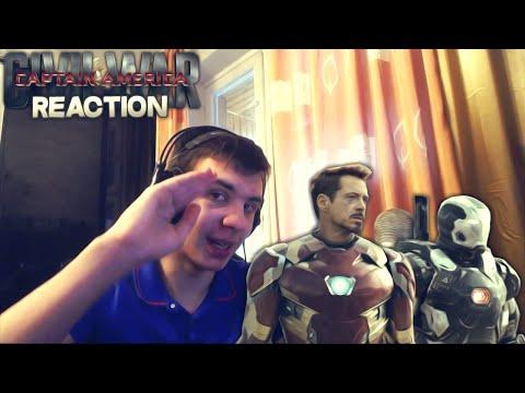 Reaction | Тизер-Трейлер Marvels Captain America: Civil War/Первый Мститель: Противостояние