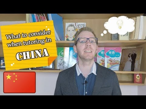 Tutoring in China - What to Consider Before Teaching Private Classes?