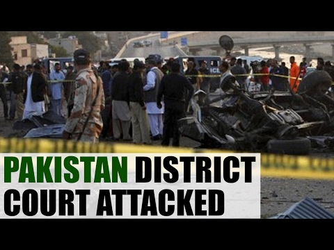Pakistan district court attacked, explosion injure several | Oneindia News